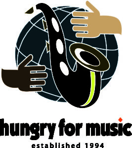 hungry for music logo a