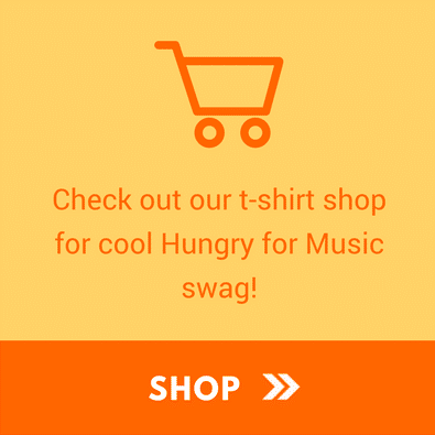 support hungry for music - shop