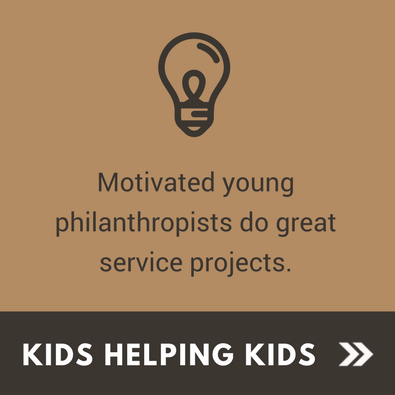 Service Projects - Kids Helping Kids
