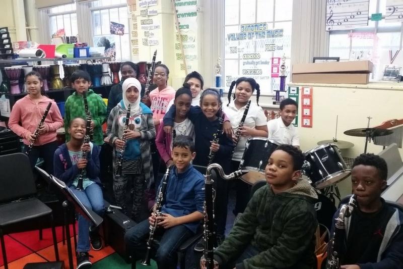 NYCPS 76 Clarinets